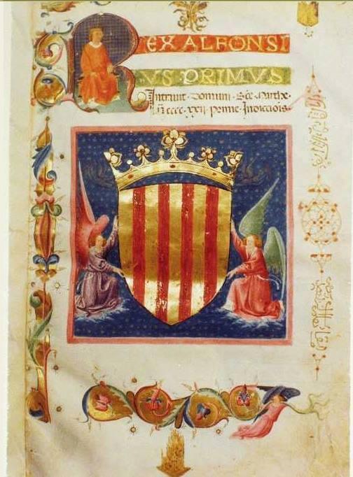 Blasone di Alfonso I
